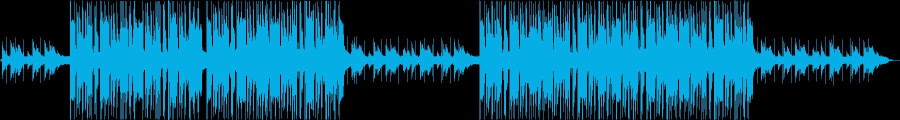 ソフトライトアーバンヒップホップの再生済みの波形
