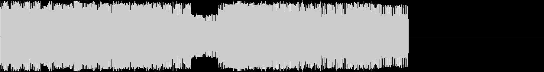 ファミコンサウンドの明るいファンファーレの未再生の波形