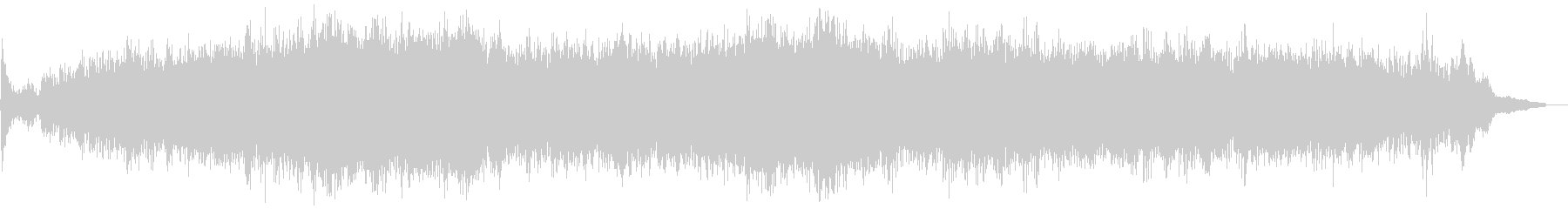 ピアノの入った不思議なアンビエントの未再生の波形