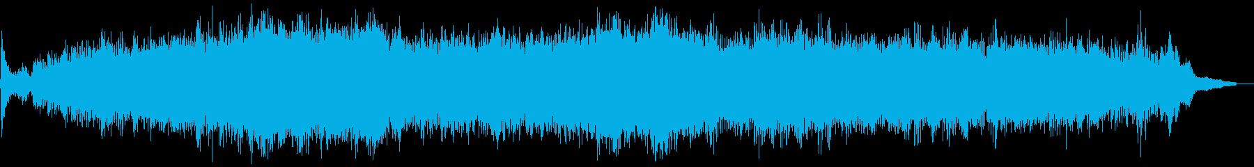 ピアノの入った不思議なアンビエントの再生済みの波形