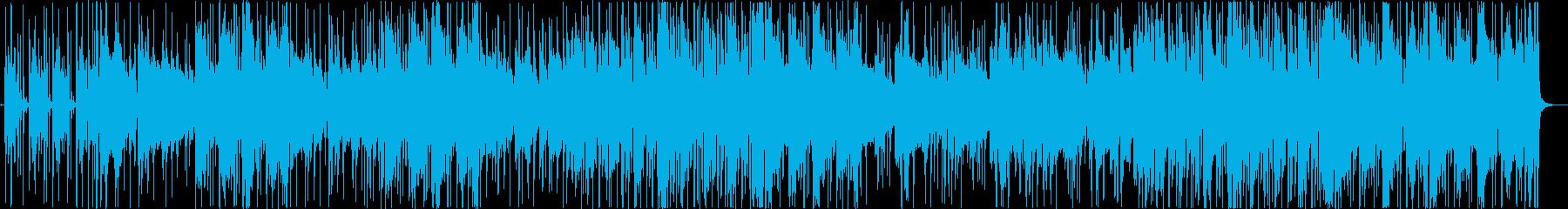 自身溢れるサックスジャズの再生済みの波形