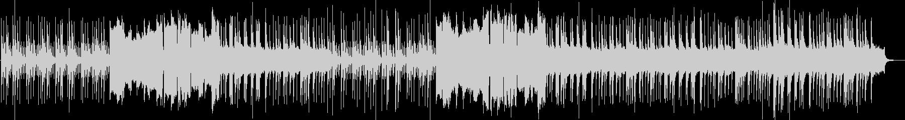 スローテンポな琴と篳篥による幻想的な曲の未再生の波形