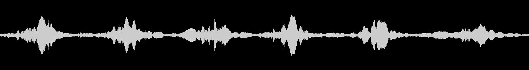 ハートマシンループの未再生の波形