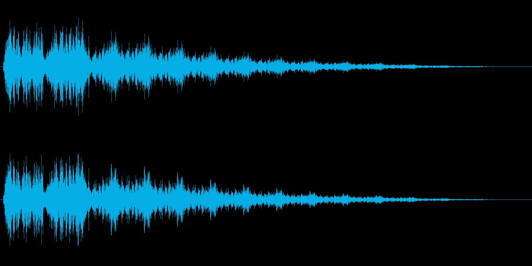 シュルル(ゲージアップ)の再生済みの波形
