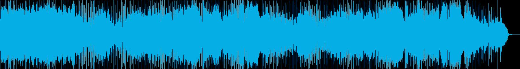 エレキギター ハードボイルドな演歌ロックの再生済みの波形