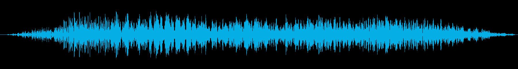 小型サーボ:短いスクープの動き、S...の再生済みの波形
