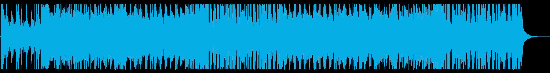 ロックギターリフ、オープニングのイメージの再生済みの波形