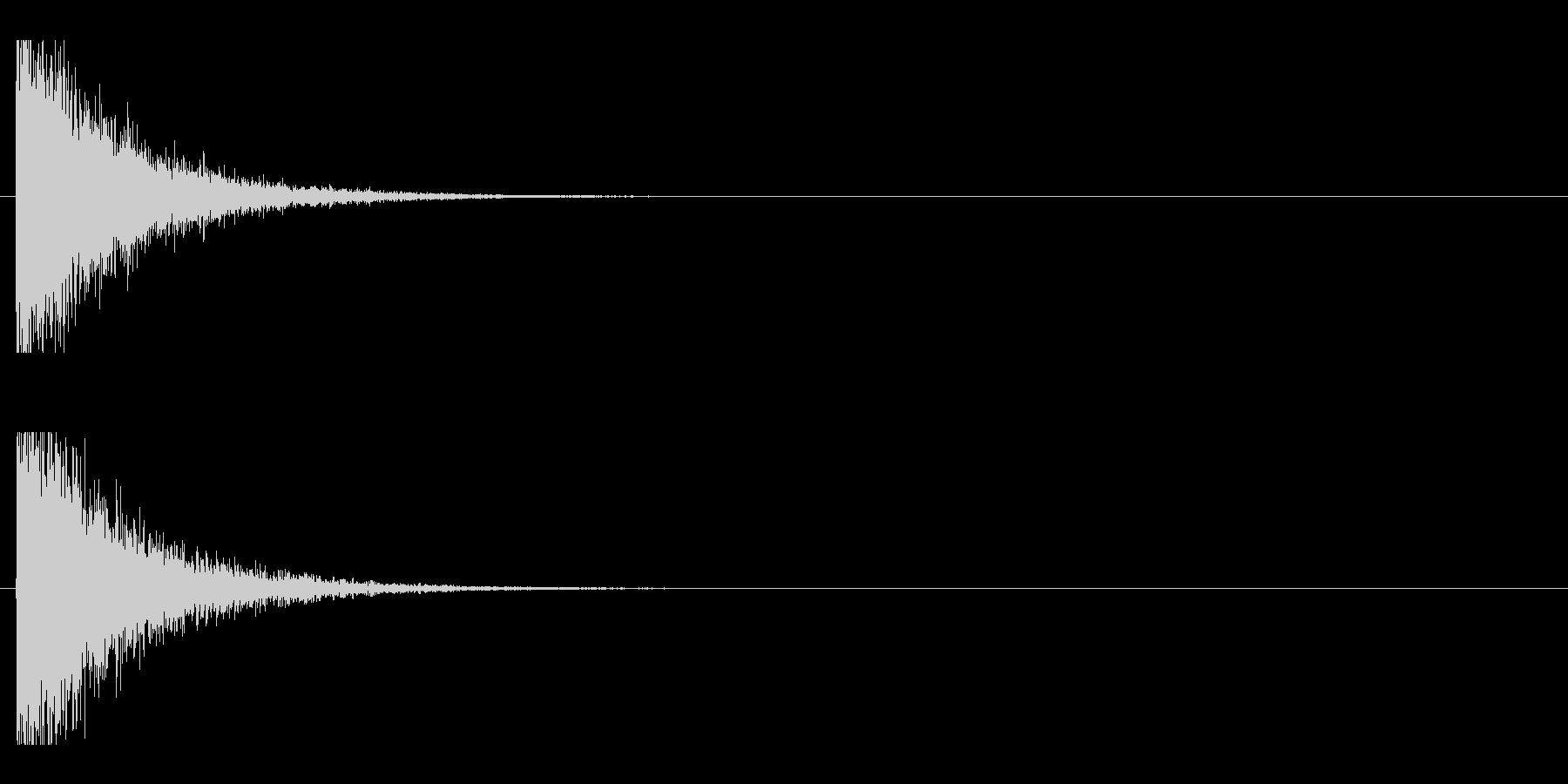 レーザー音-143-1の未再生の波形