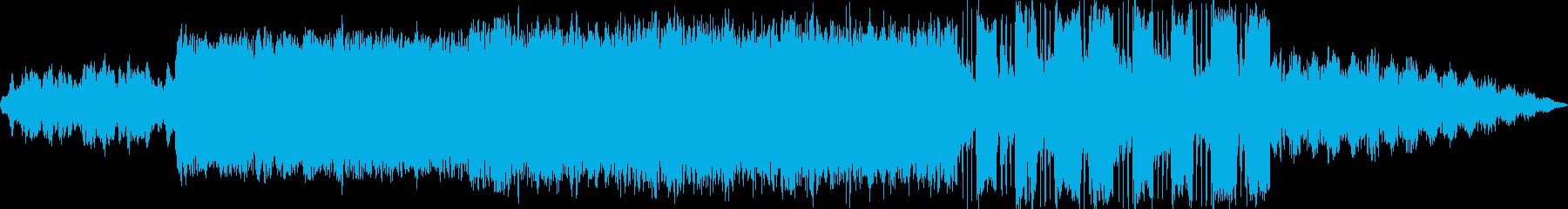 不思議な雰囲気のアンビエントの再生済みの波形