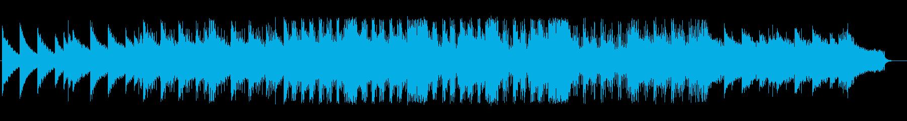 しっとりとしたポップス風エレクトロニカの再生済みの波形