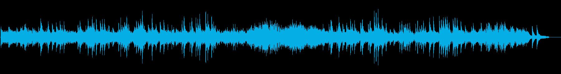 ベートーヴェン月光ソナタ 第1楽章の再生済みの波形