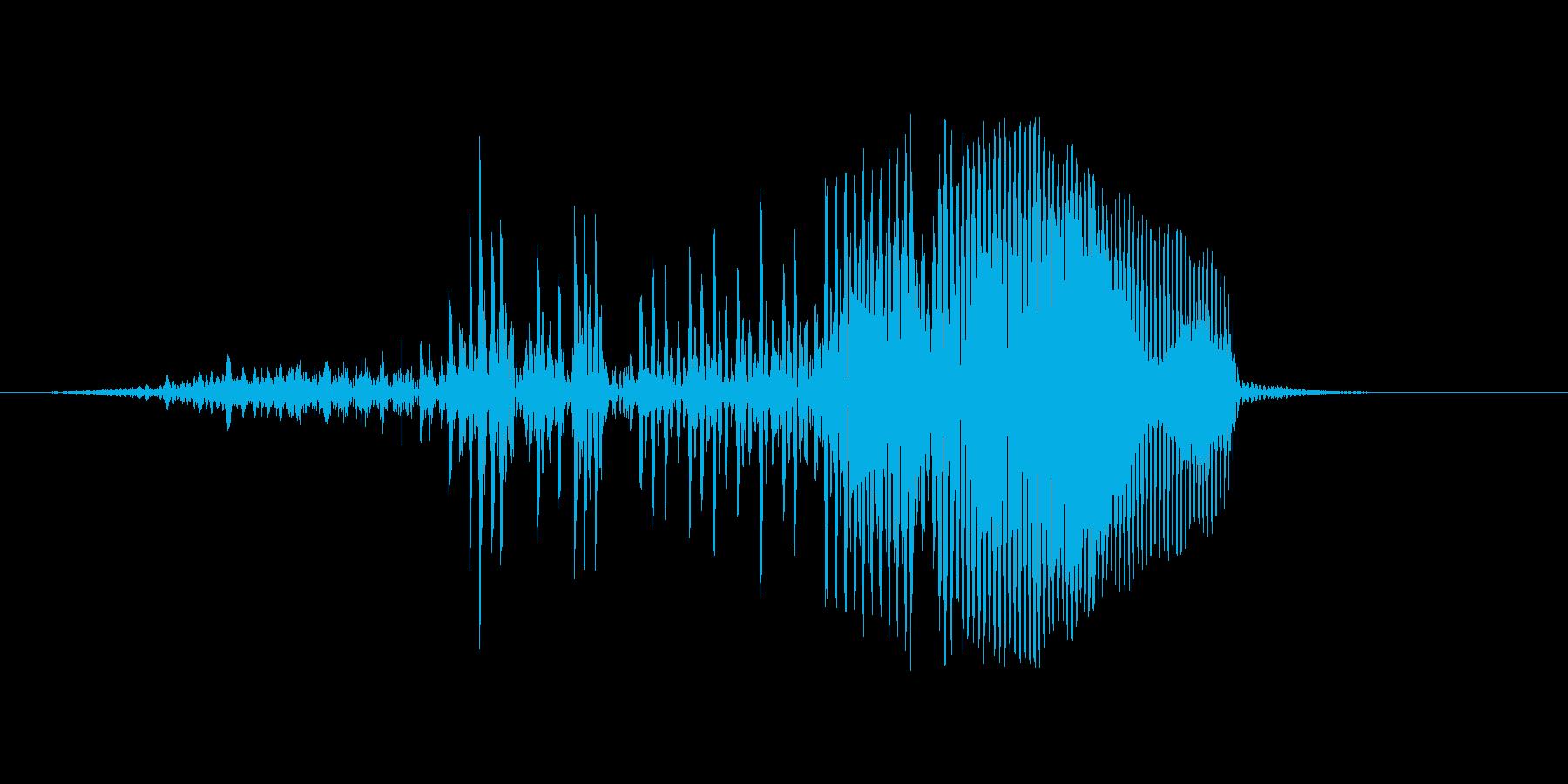 はぁっ!(攻撃)の再生済みの波形