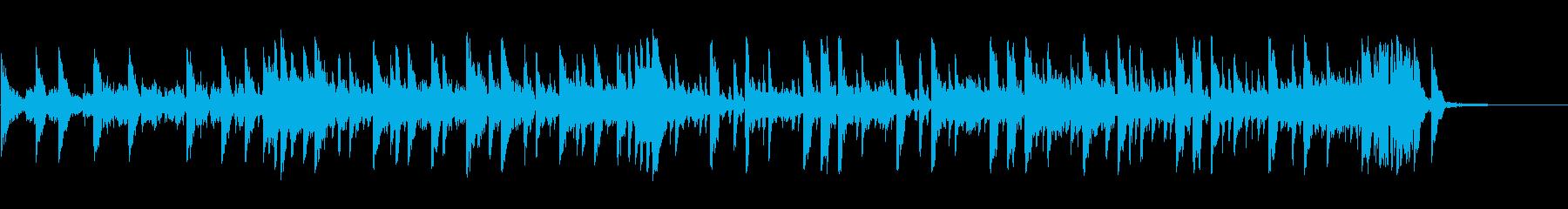 神秘的な代替ロックテーマの再生済みの波形