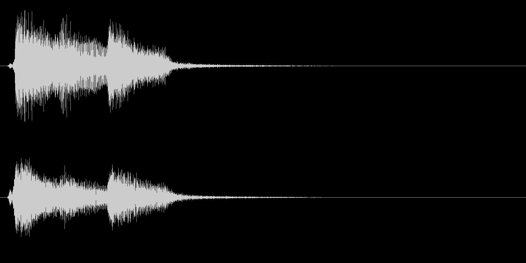 バロック4 ノーマルカード入手 正解の未再生の波形