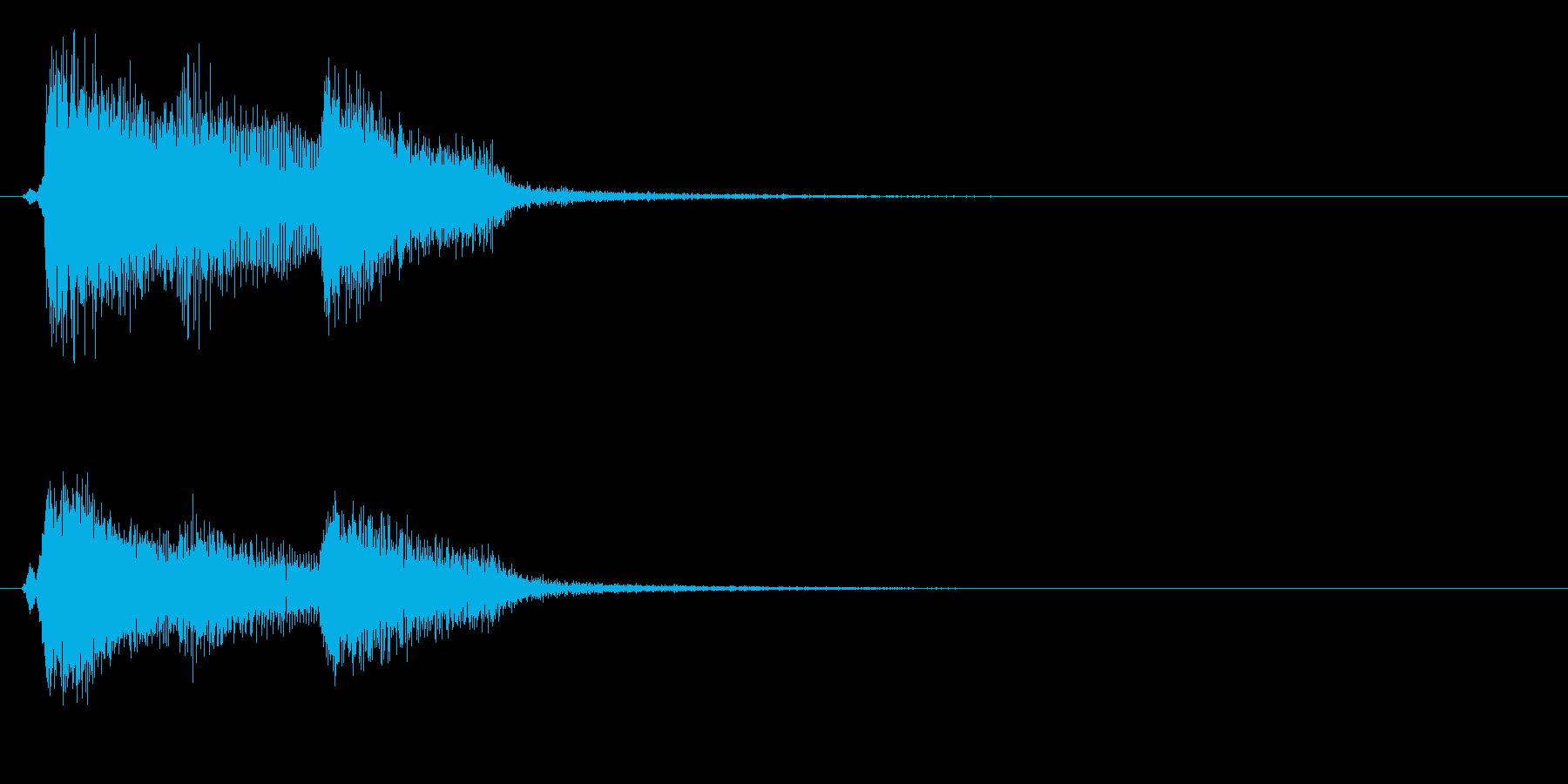 バロック4 ノーマルカード入手 正解の再生済みの波形