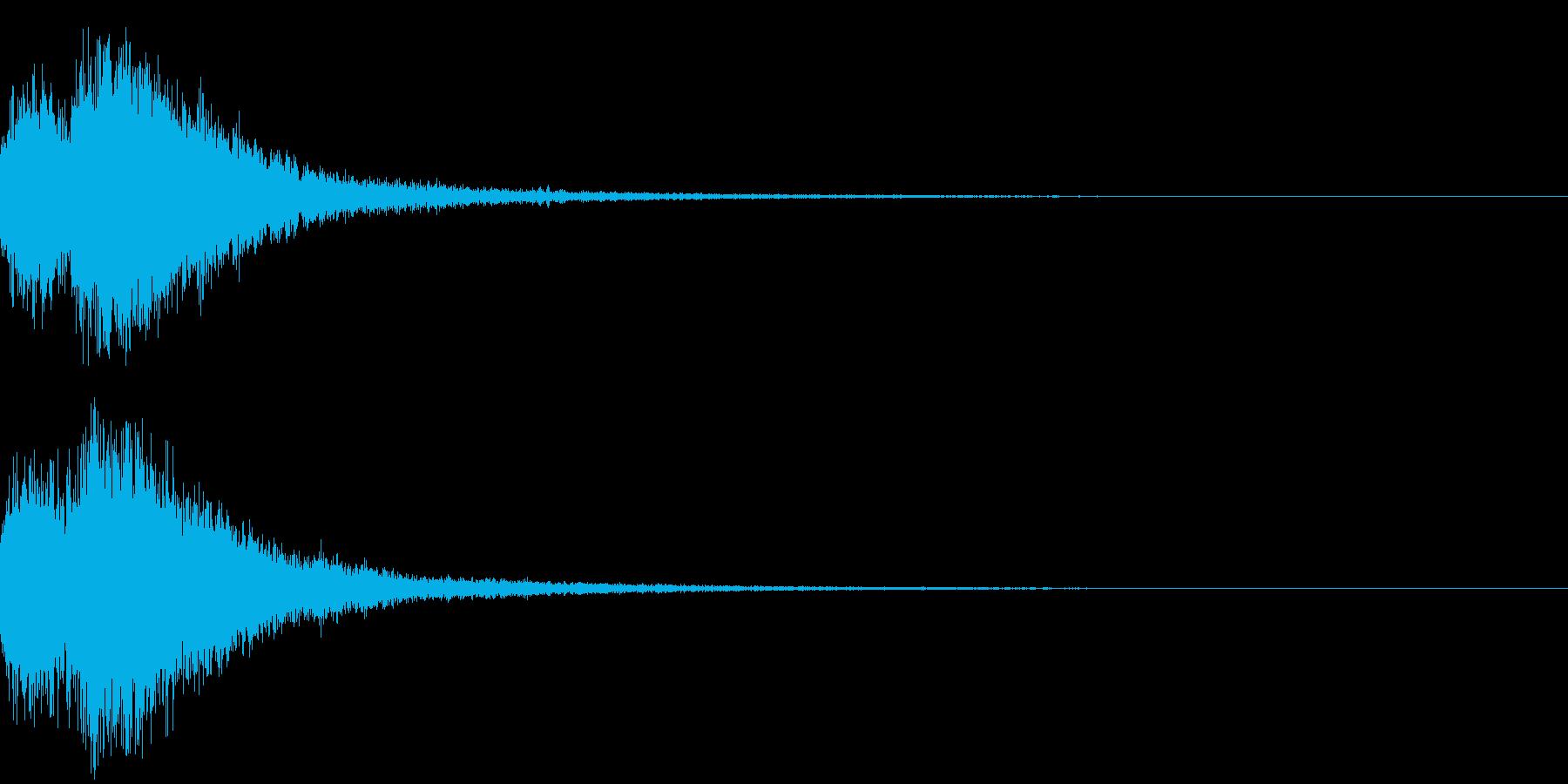 オーケストラヒット ジングル! 02+の再生済みの波形