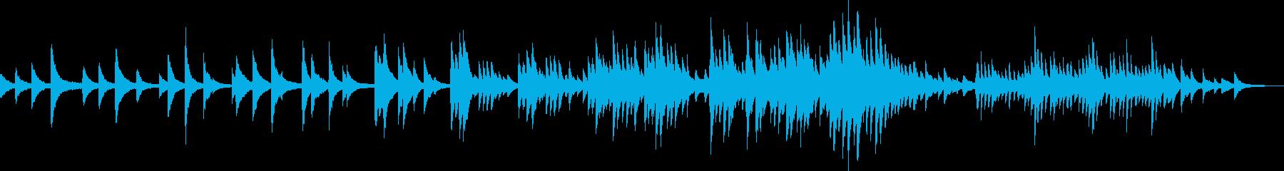 優しい気持ち(ピアノ・BGM・ゆったり)の再生済みの波形