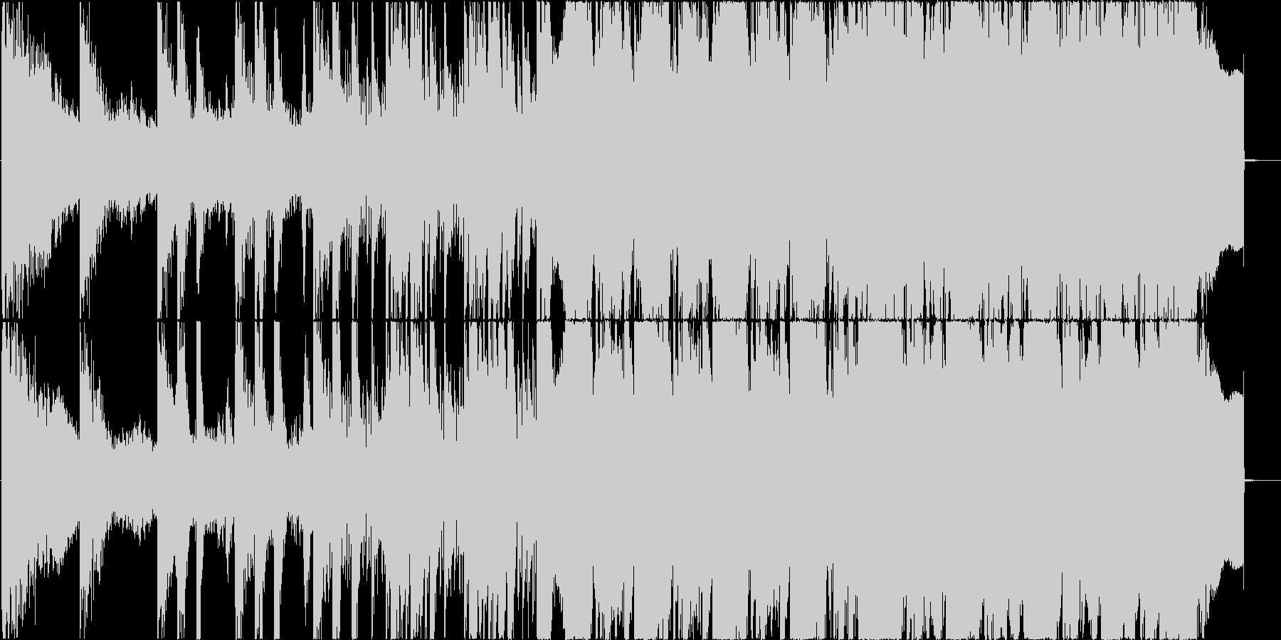 シネマティック センチメンタル 技...の未再生の波形