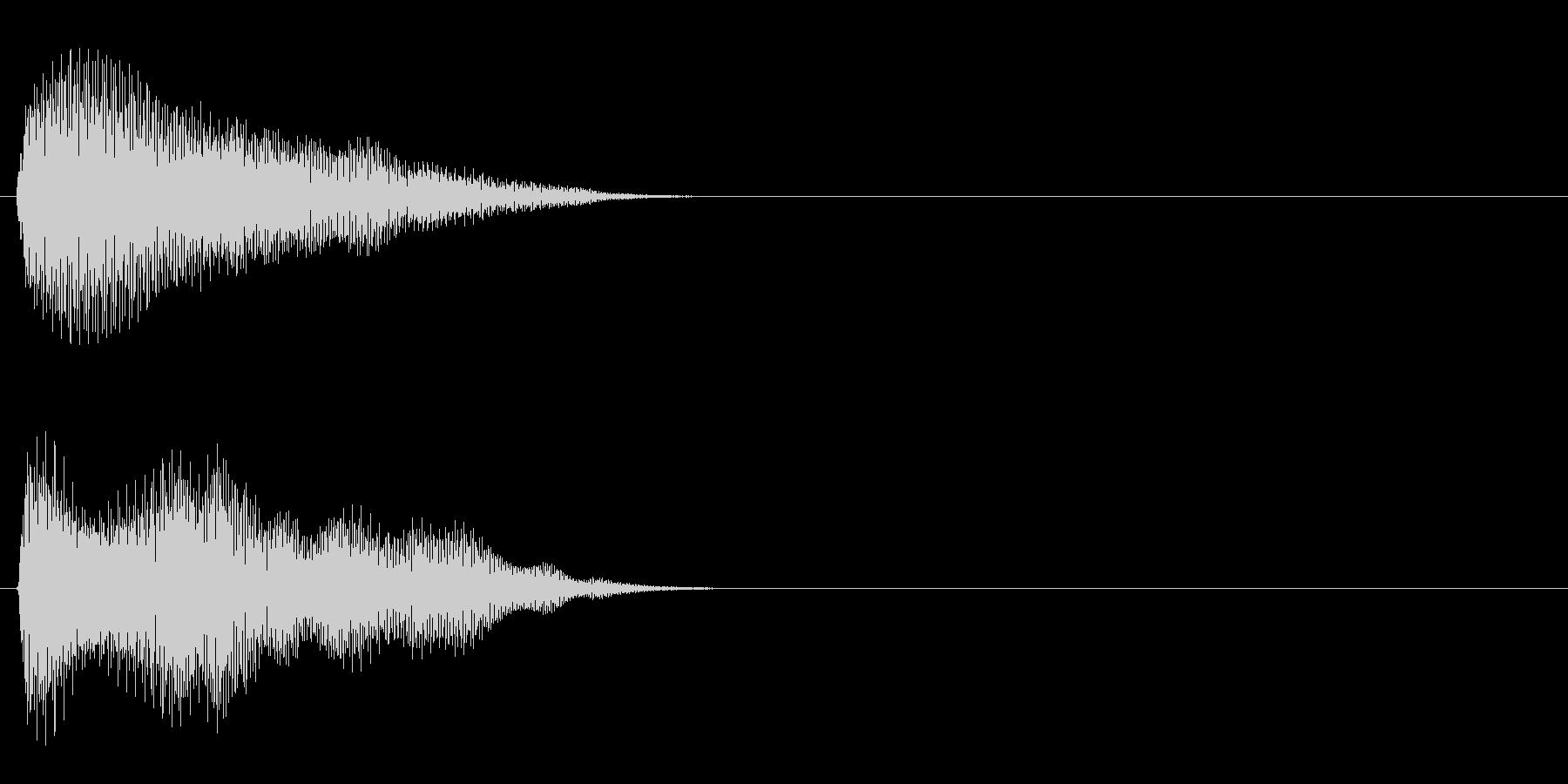 汎用 エレピ系09(長) タッチ音の未再生の波形