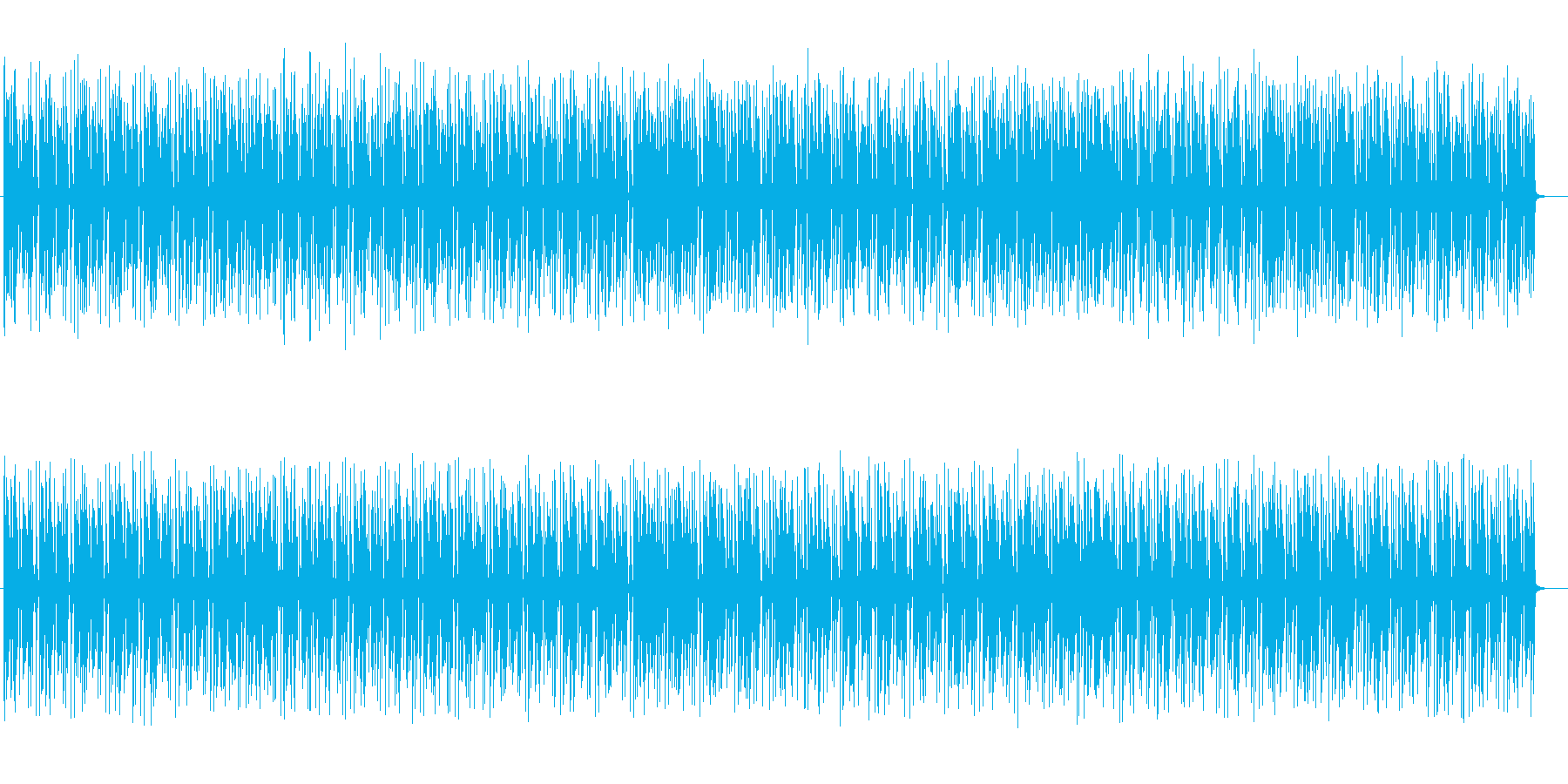 楽しげでコミカルなシンセサイザーサウンドの再生済みの波形