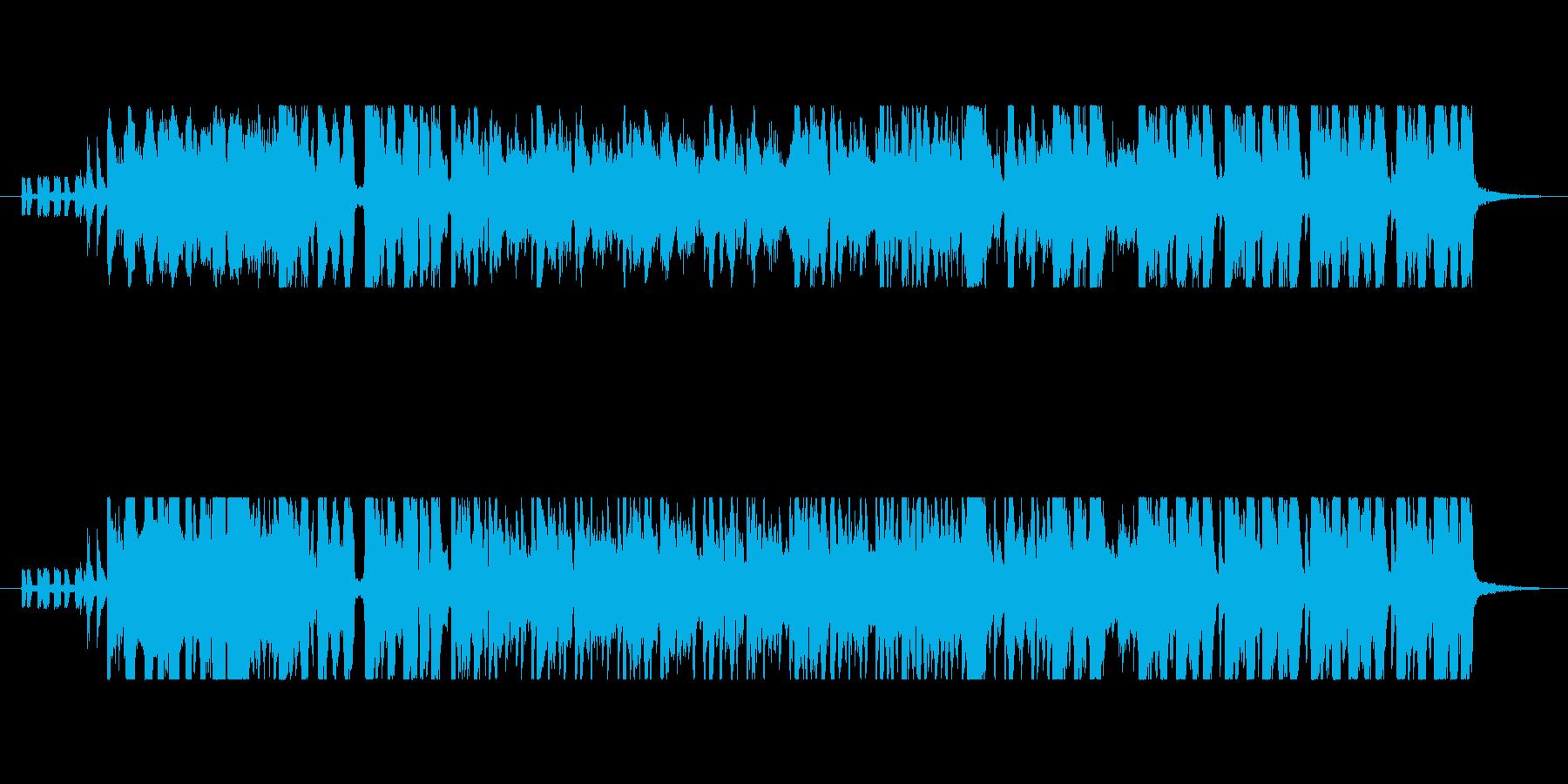 バナナをテーマにした楽曲の再生済みの波形