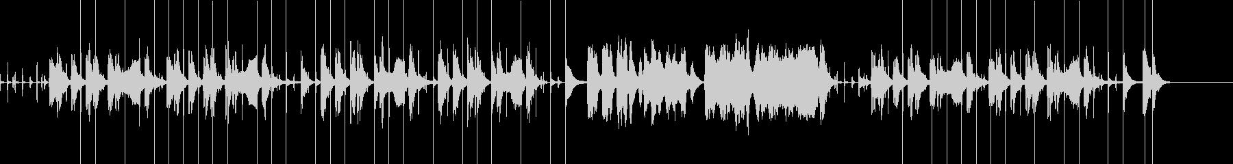 しーっ!静かに…! 泥棒イメージの曲の未再生の波形