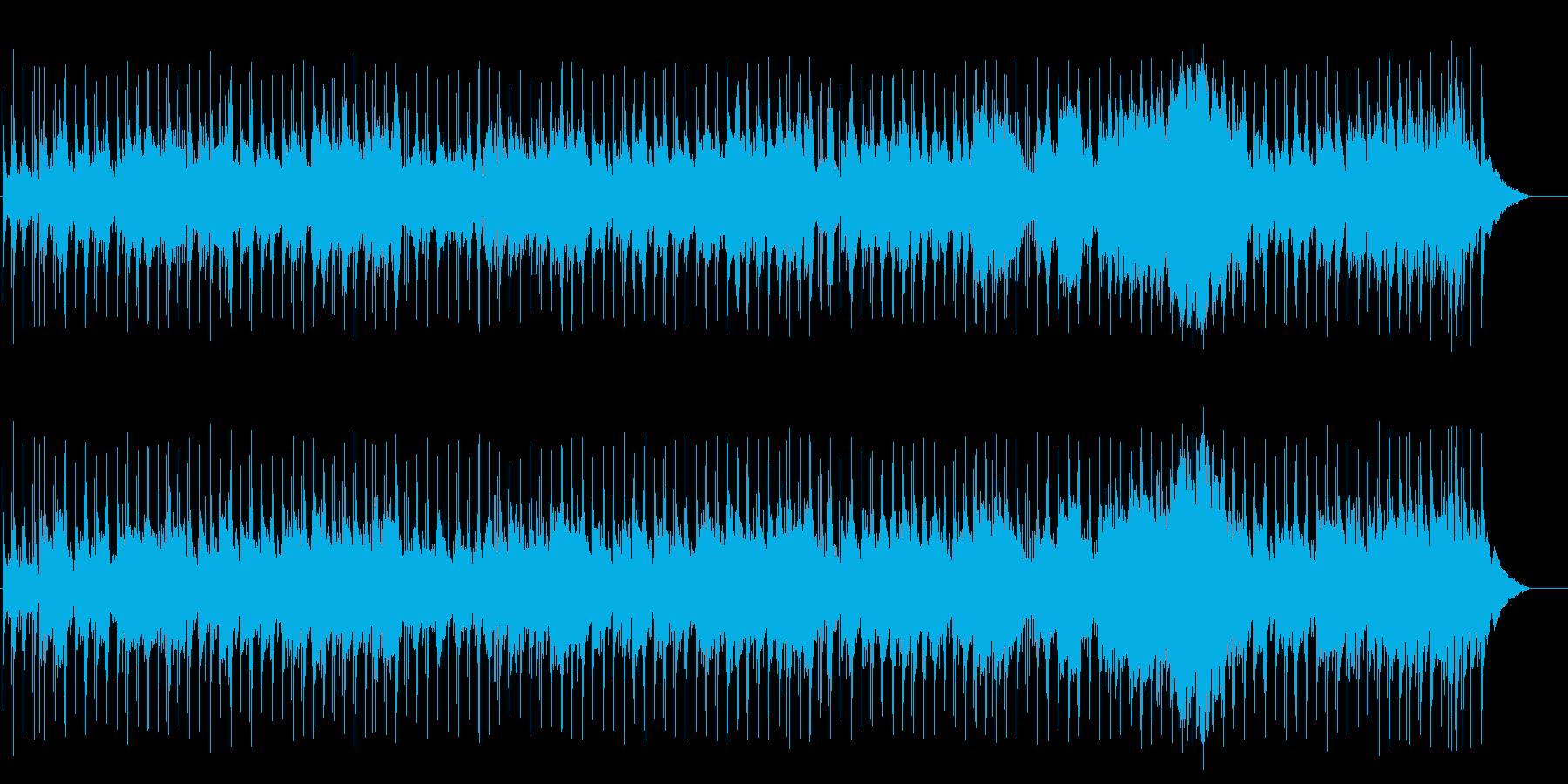 優しくしっとりとしたジャズ/バラードの再生済みの波形