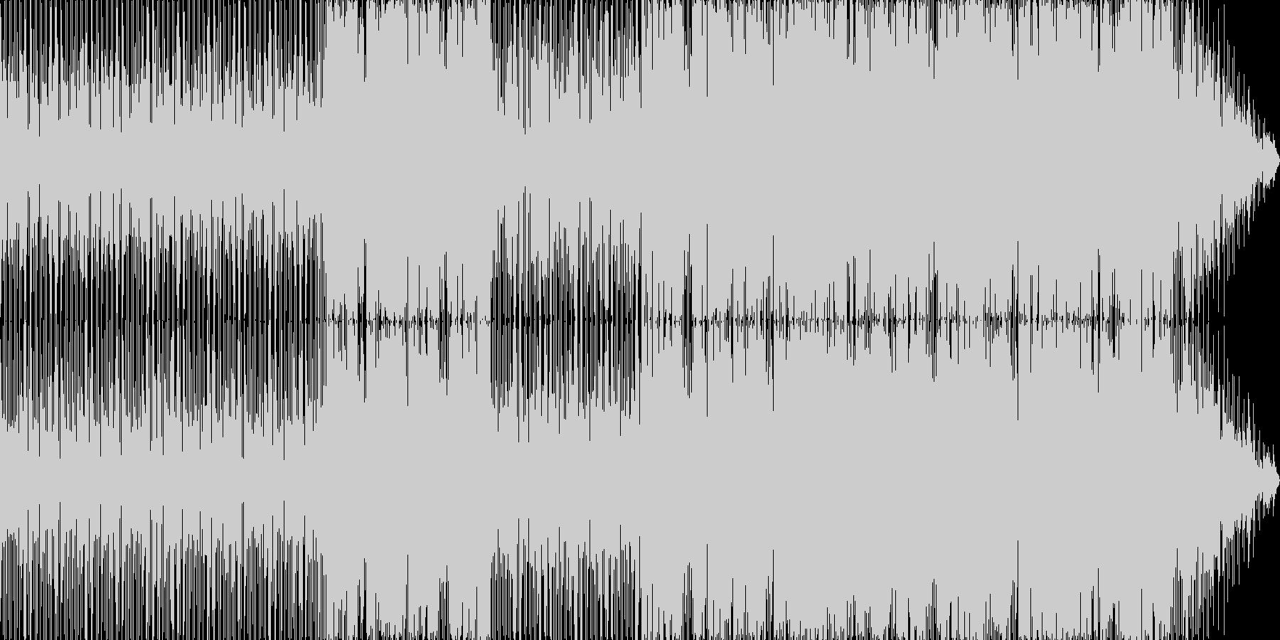 グルーヴィーで大人っぽいムード楽曲の未再生の波形