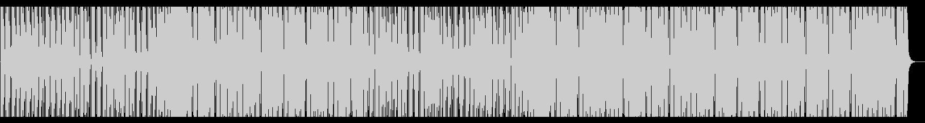 爽やか。ピアノ・エレキギターハウスの未再生の波形