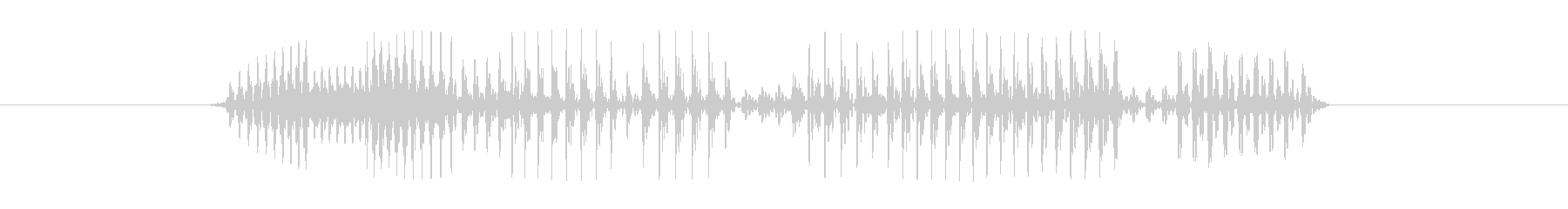 今なら貰える 低音の未再生の波形