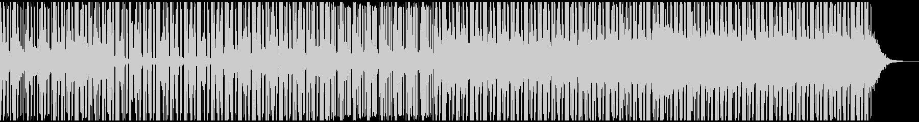 重すぎないホラーなBGM お化け屋敷の未再生の波形