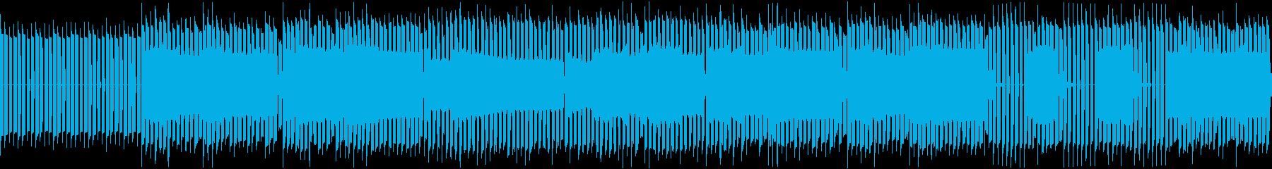 ちょっとレトロで可愛い曲です。の再生済みの波形