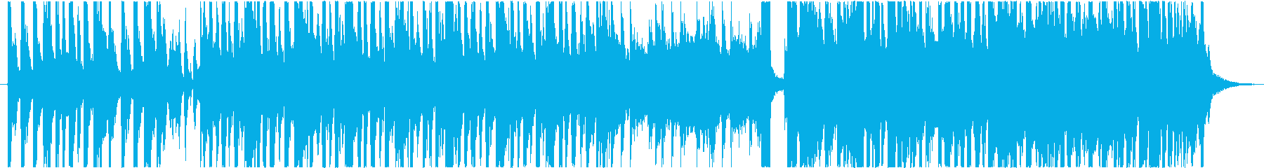 ハロウィンテーマ(ビッグバンド風)の再生済みの波形