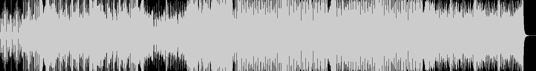 爽やかなピアノが目立つディスコの未再生の波形