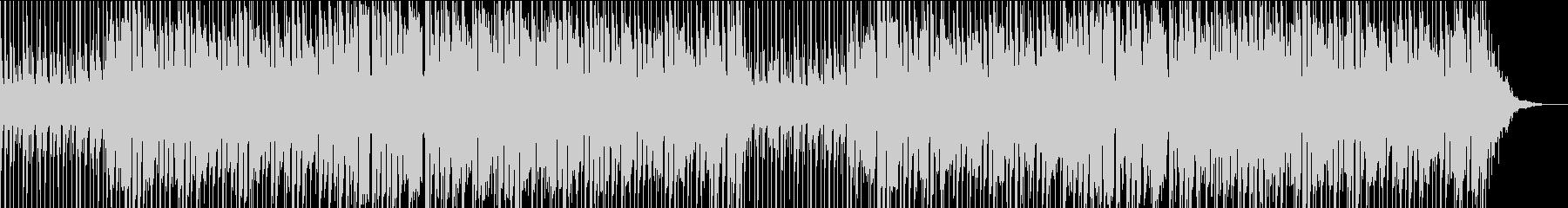 企業PVさわやかエレキギターとピアノの曲の未再生の波形