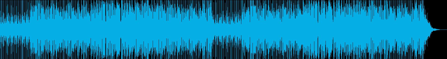 企業PVさわやかエレキギターとピアノの曲の再生済みの波形
