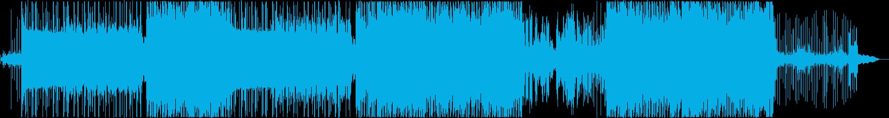 【歌】暗い雰囲気の女性ボーカルポップス2の再生済みの波形