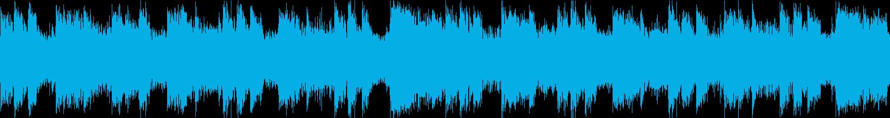 アゲアゲ テクノ ループの再生済みの波形