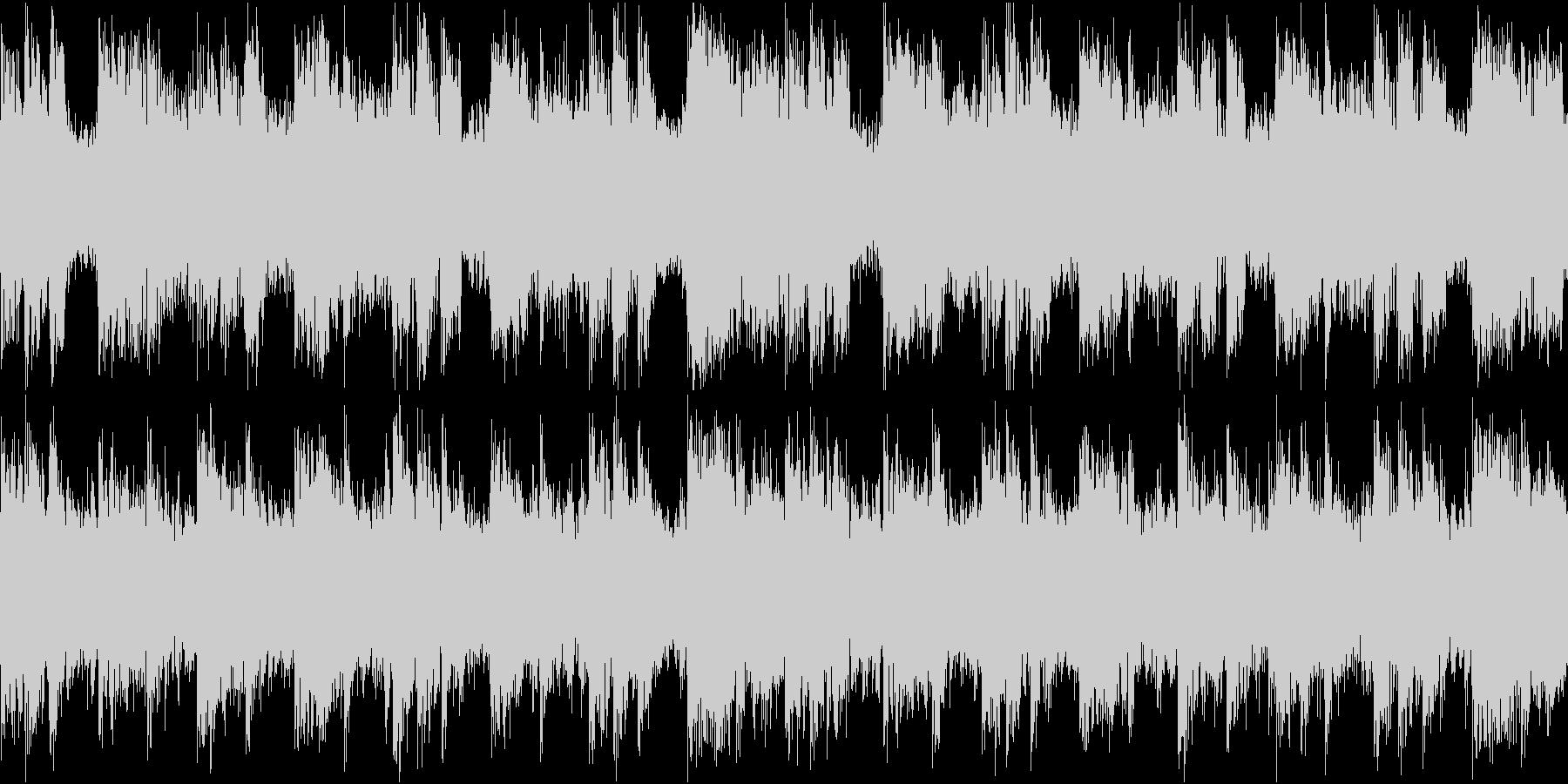 アゲアゲ テクノ ループの未再生の波形
