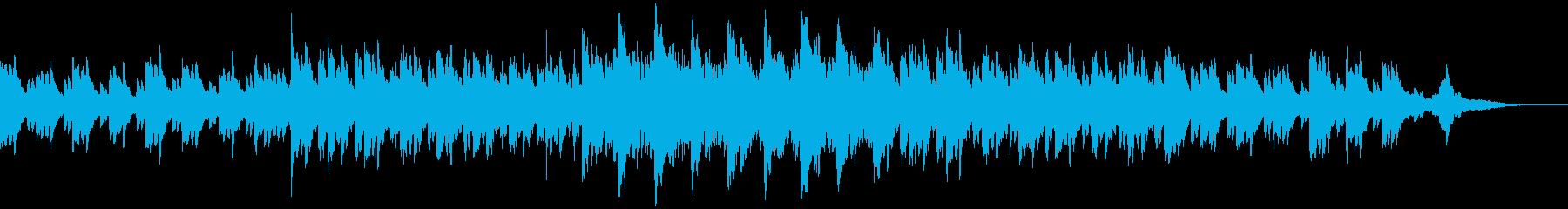 透明感・爽やか・企業VP・CM・60秒の再生済みの波形