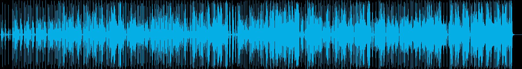 グルービングジャズインストゥルメン...の再生済みの波形