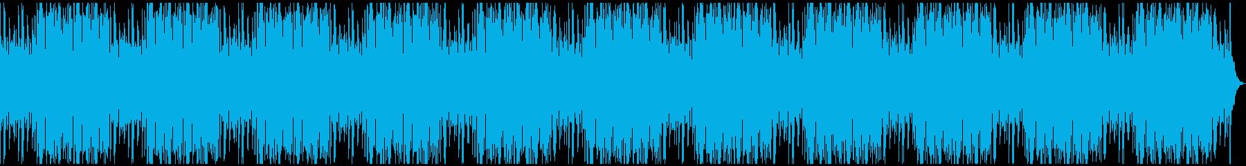 Lofiな和風チルアウトの再生済みの波形