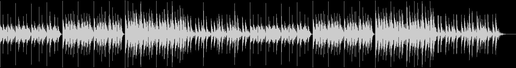 【チル】ゆったりとしたBGM・13の未再生の波形