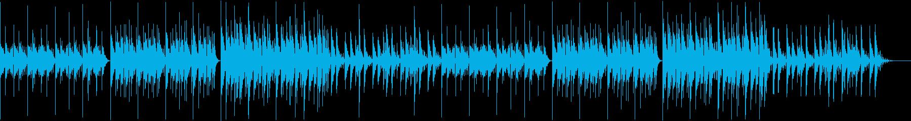 【チル】ゆったりとしたBGM・13の再生済みの波形
