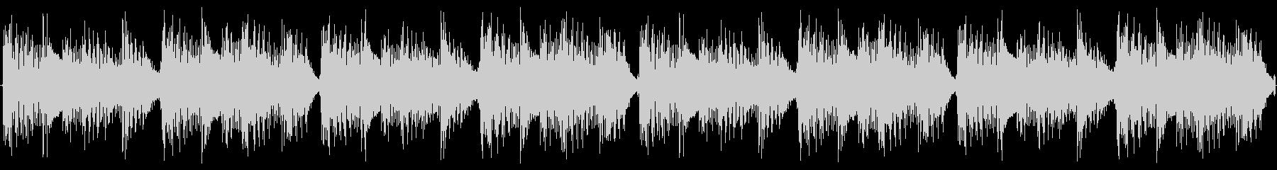 かわいいEDMの小ループの未再生の波形