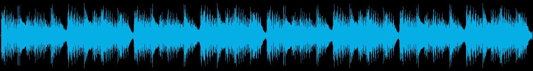 かわいいEDMの小ループの再生済みの波形