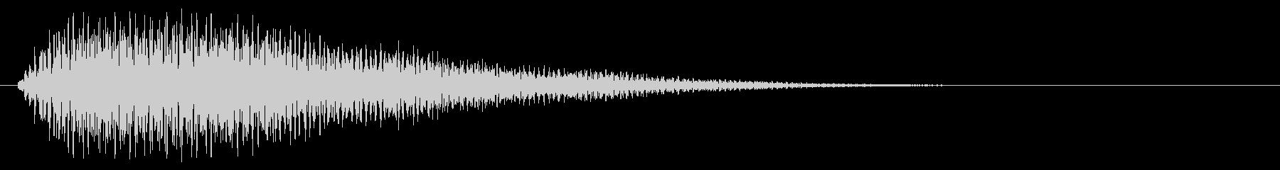 クラブ系 タッチ音8(メジャーナインス)の未再生の波形