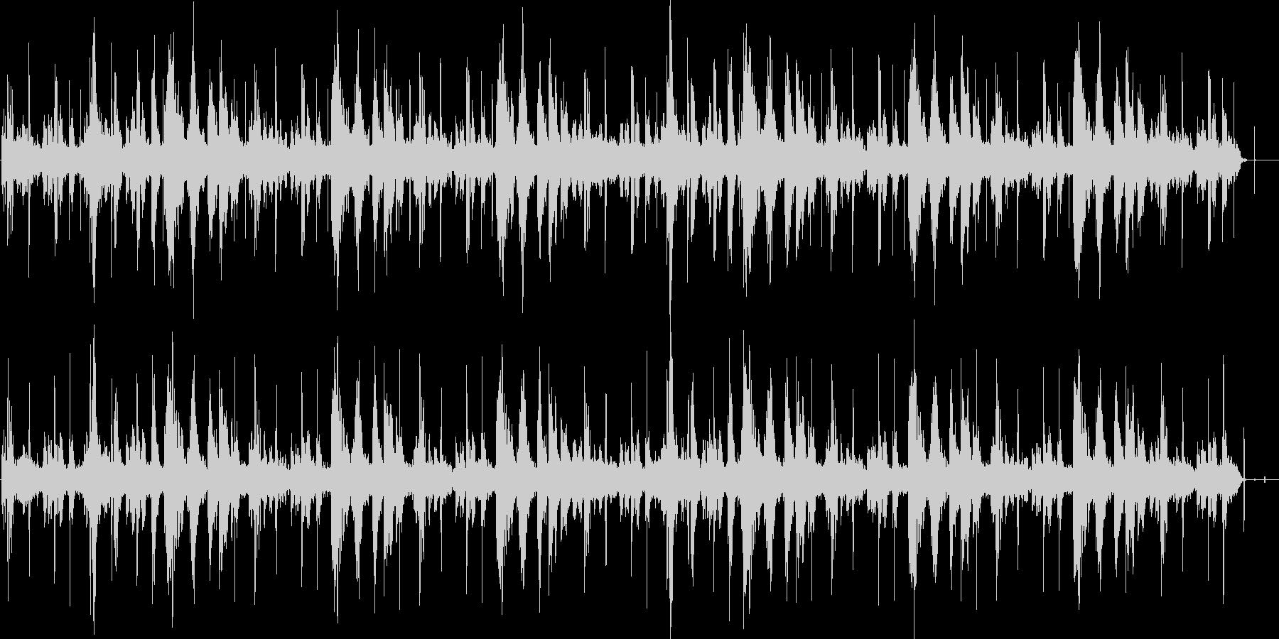 環境音楽的ヒーリング曲の未再生の波形