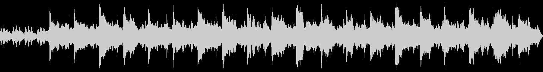 オーボエメインのやさしいBGMの未再生の波形