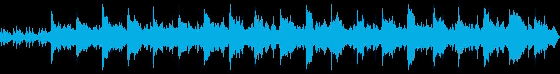 オーボエメインのやさしいBGMの再生済みの波形